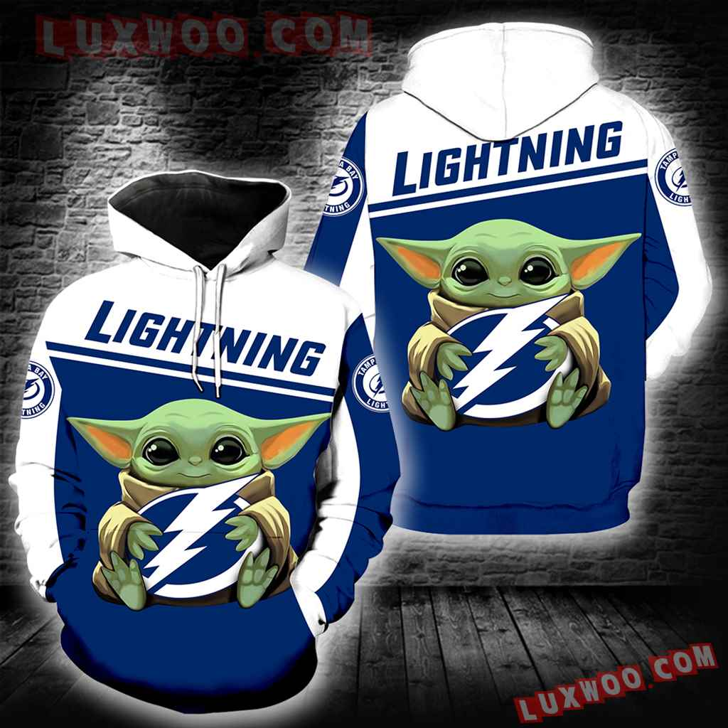 Tampa Bay Lightning Baby Yoda New Full All Over Print V1565