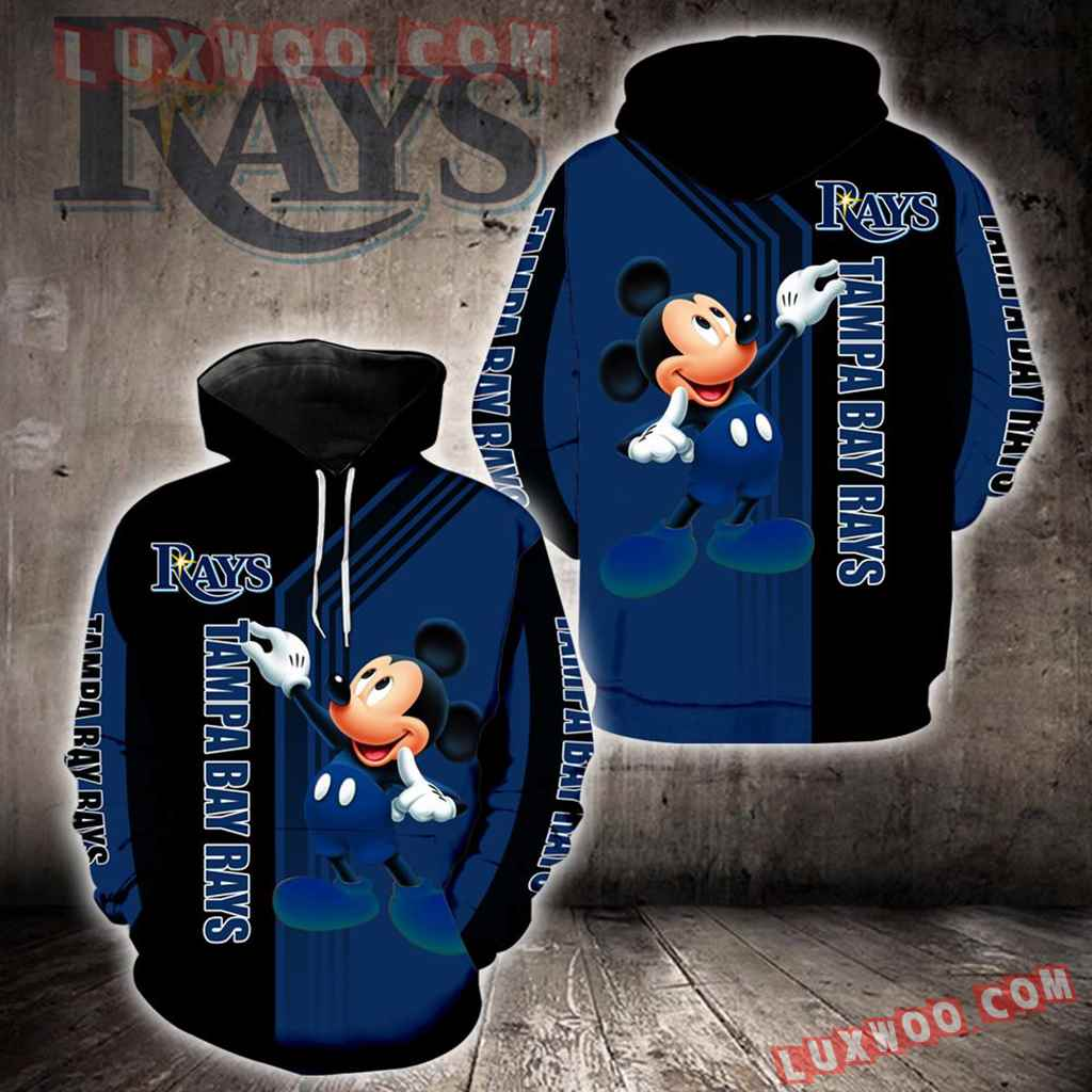 Tampa Bay Rays Mickey Mouse New Full All Over Print K1356