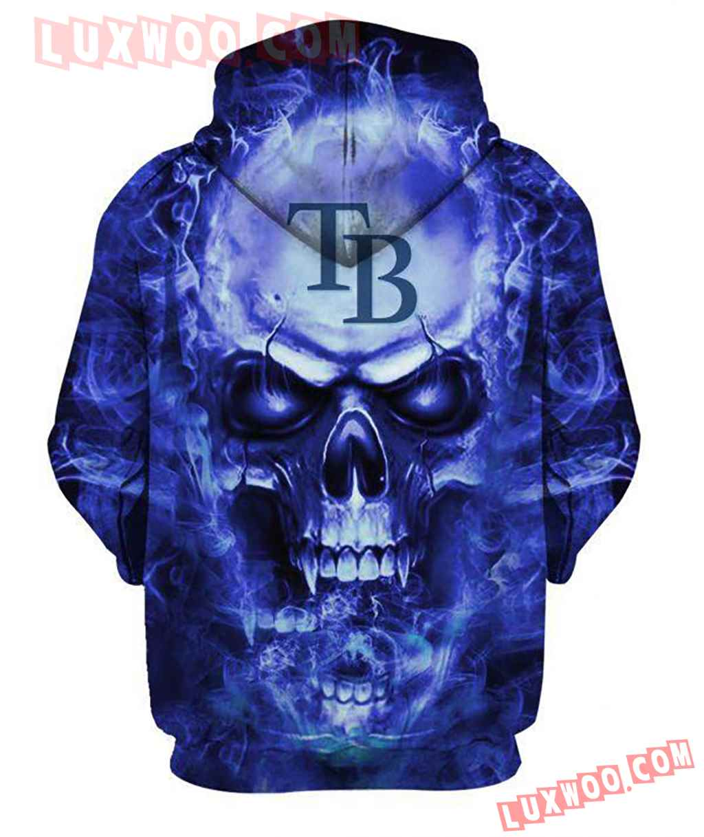 Tampa Bay Rays Skull New Full All Over Print K3150