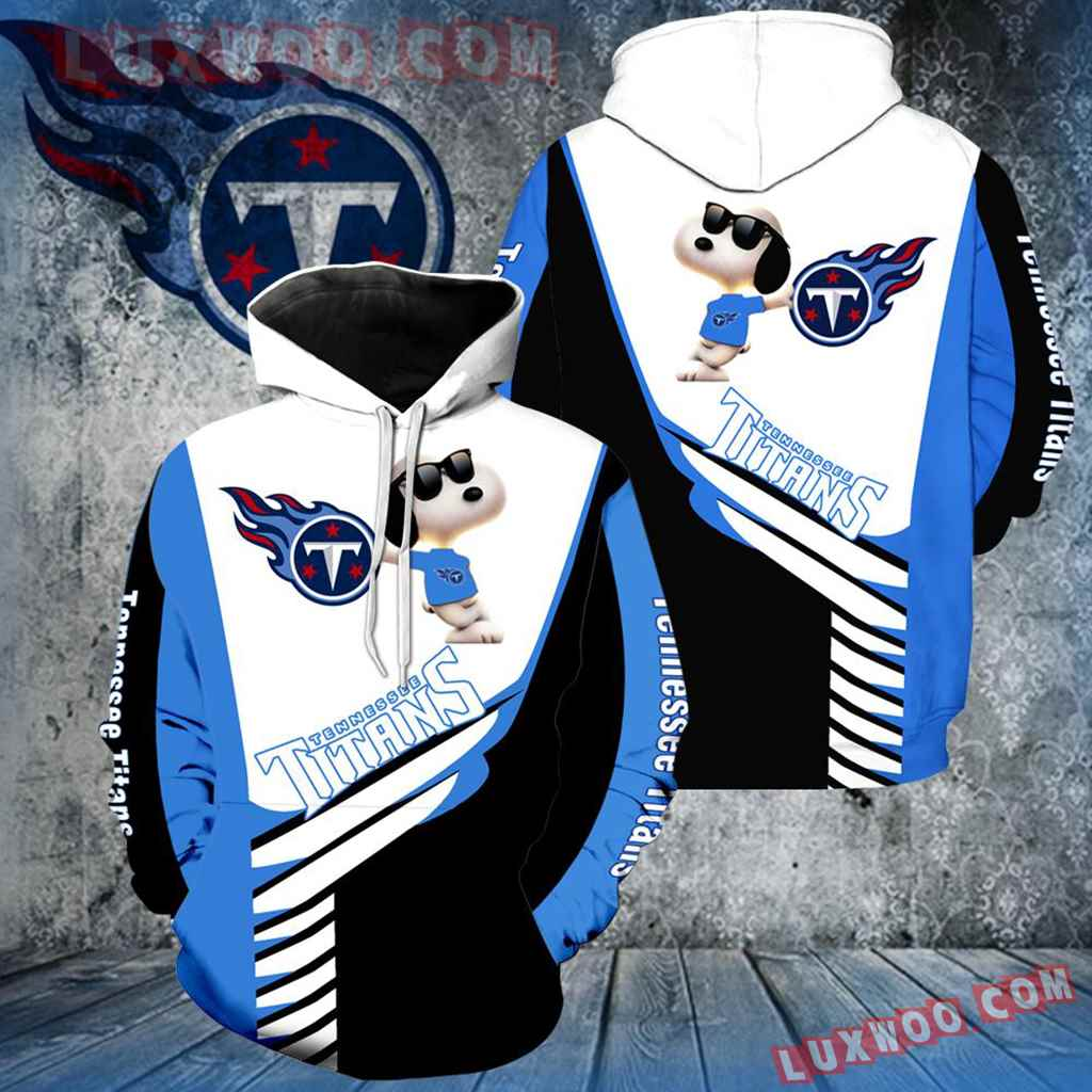 Tennessee Titans Snoopy New All Over Print V1300