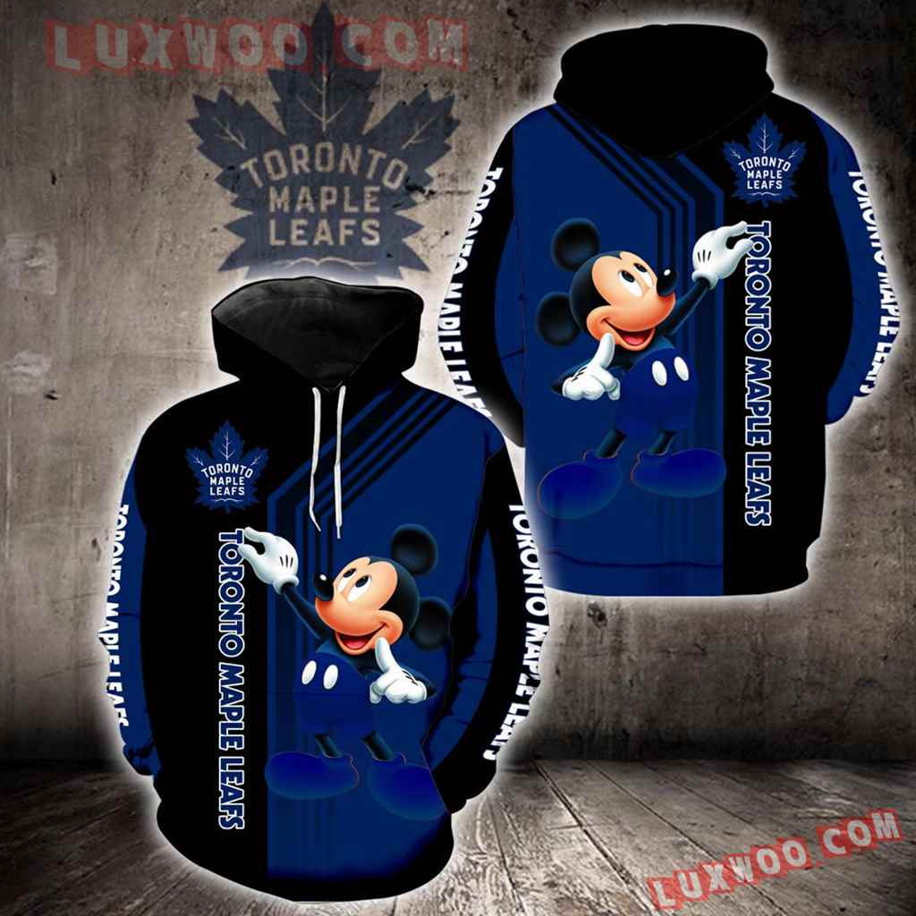 Toronto Maple Leafs Mickey Mouse New Full All Over Print V1527