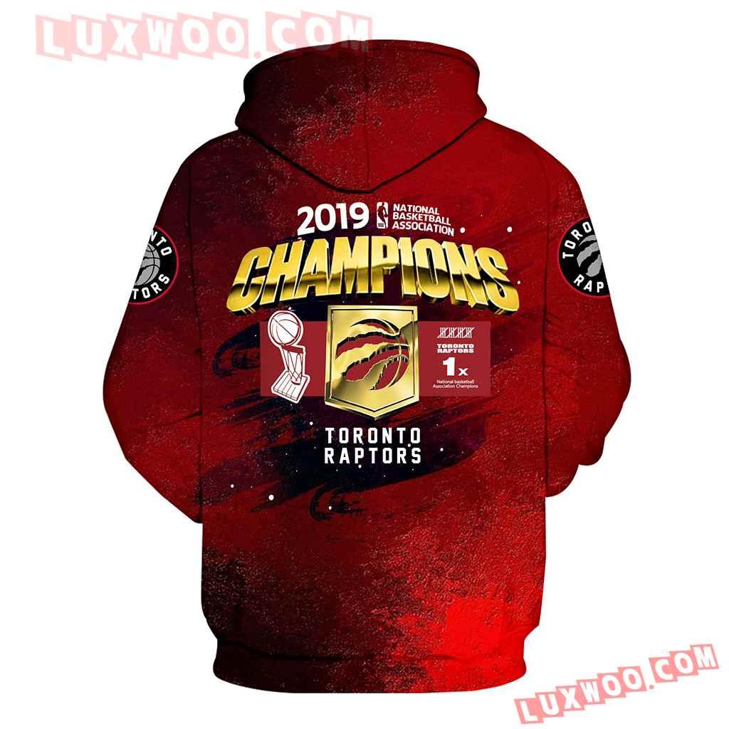 Toronto Raptors Champions 2019 Full Over Print Th1004