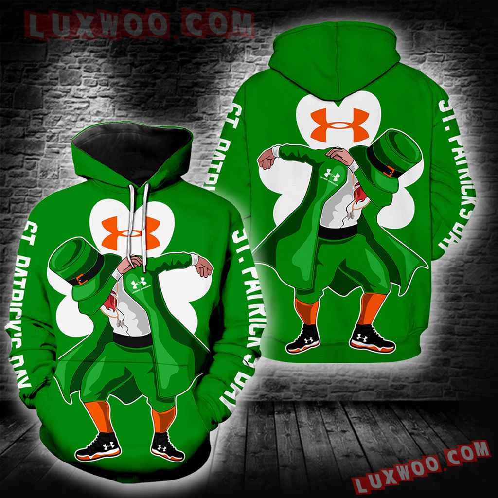 Under Armour Irish Saint Patricks Day New Full All Over Print K1400