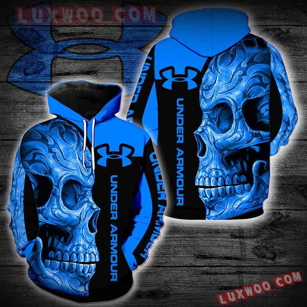 Under Armour Skull New Full Over Print K1124