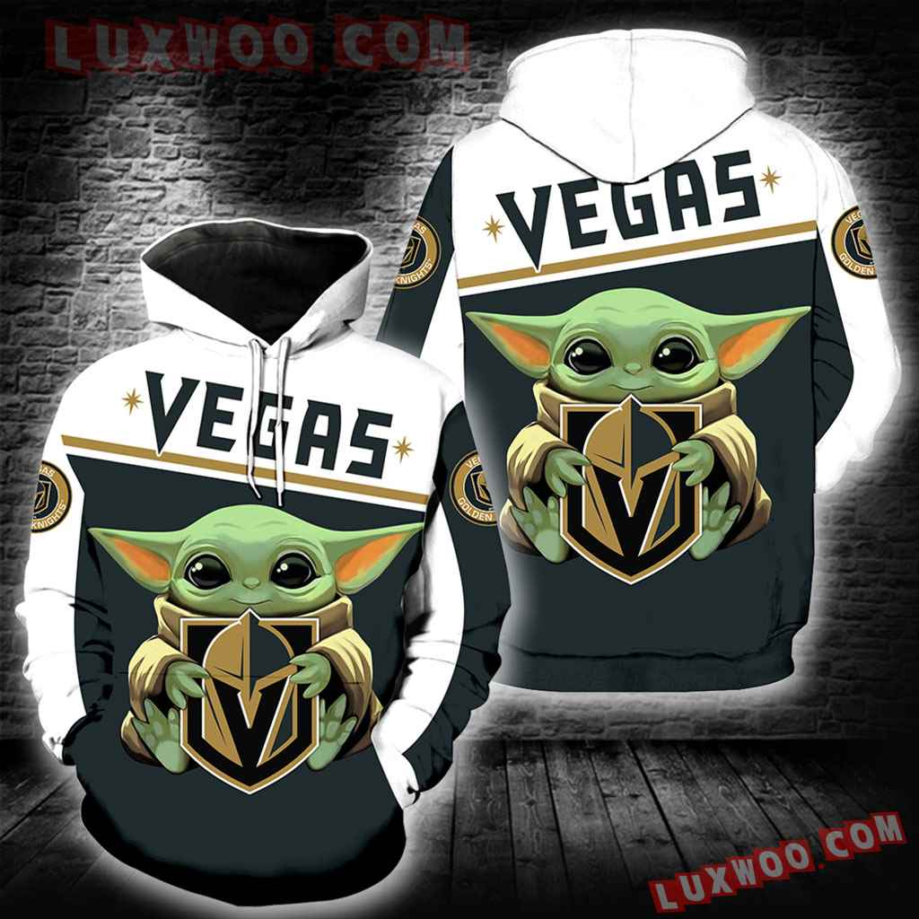 Vegas Golden Knights Baby Yoda New Full All Over Print K1377