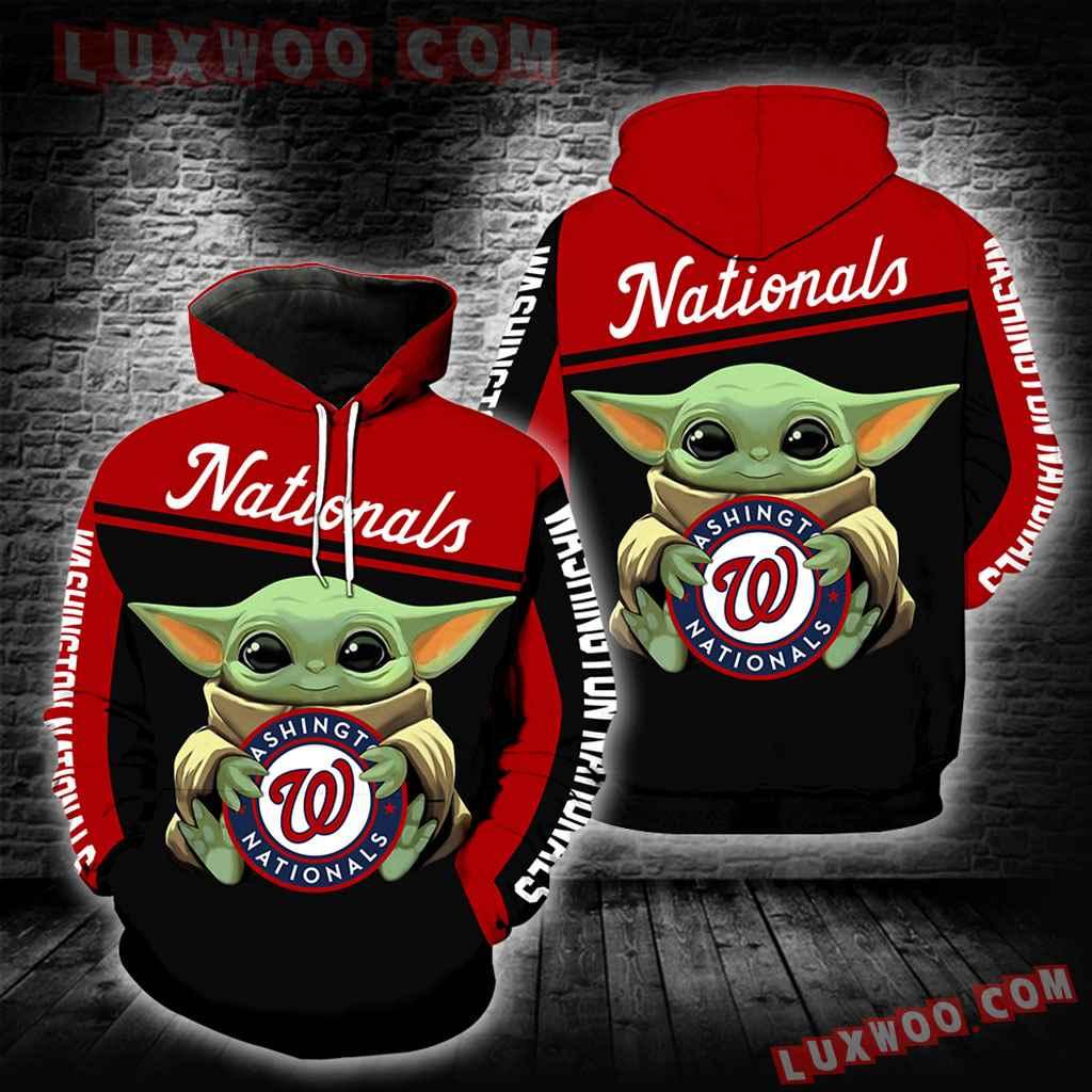 Washington Nationals Baby Yoda New Full All Over Print K1285