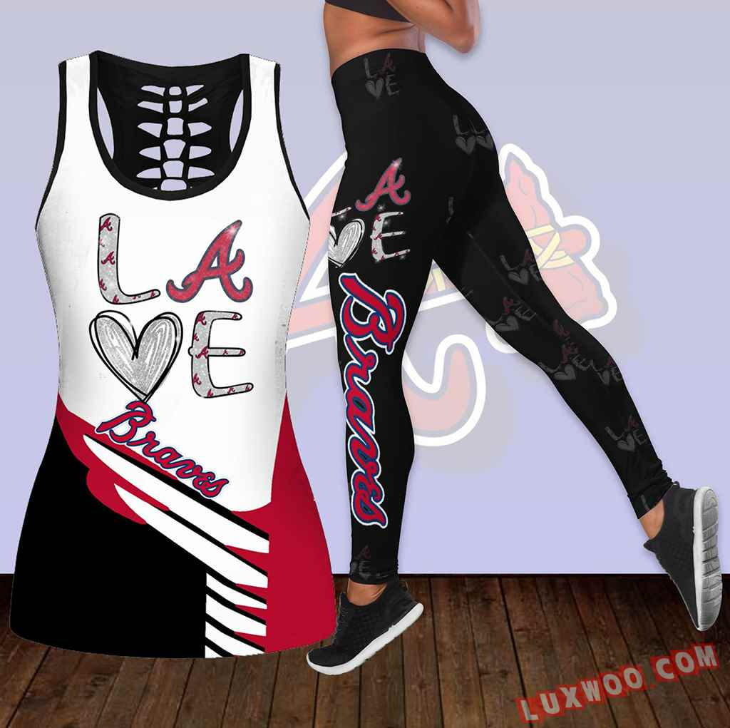 Combo Atlanta Braves Love Hollow Tanktop Legging Set Outfit K1886_new1_new2
