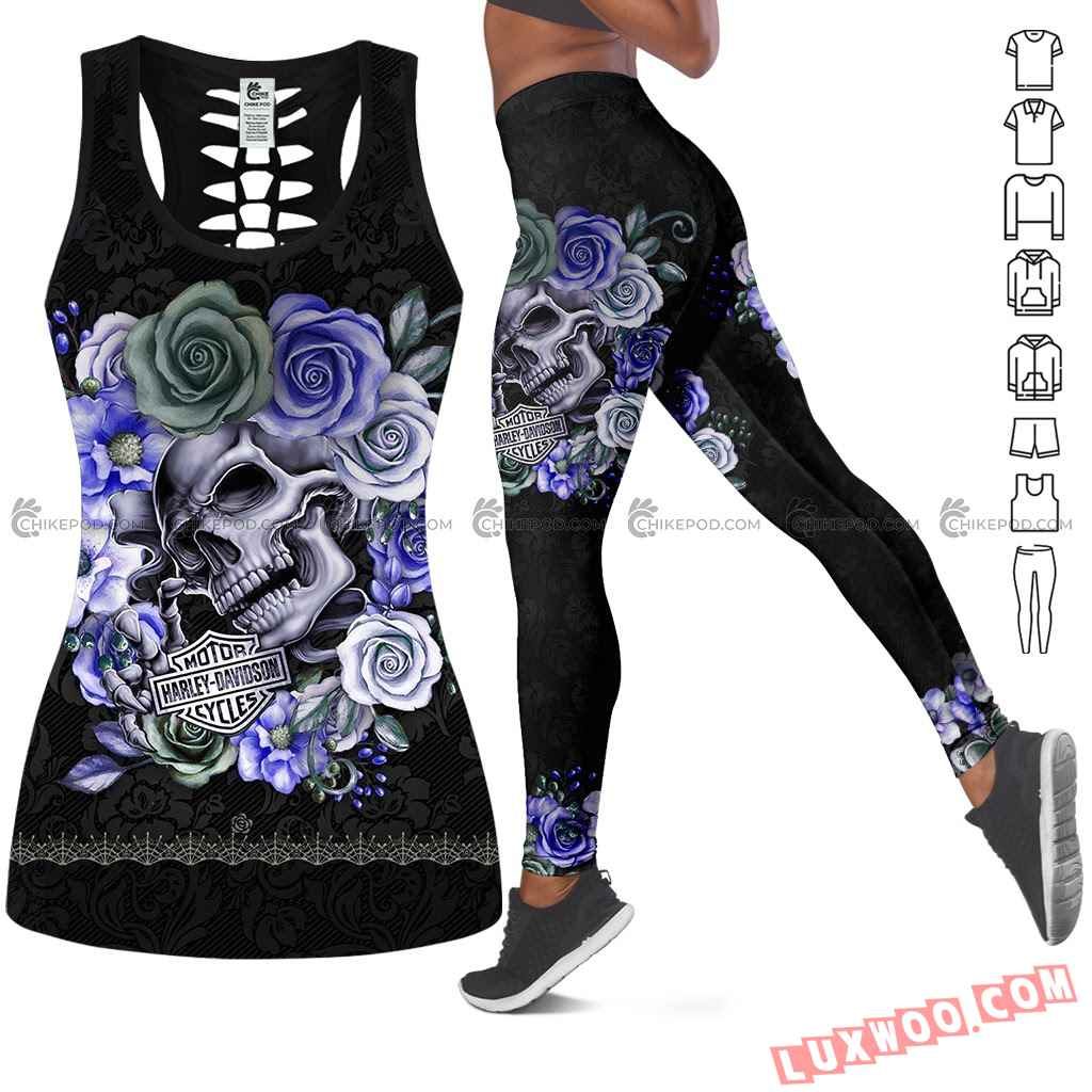 Love Motorbike Tank Top And Legging Nr239