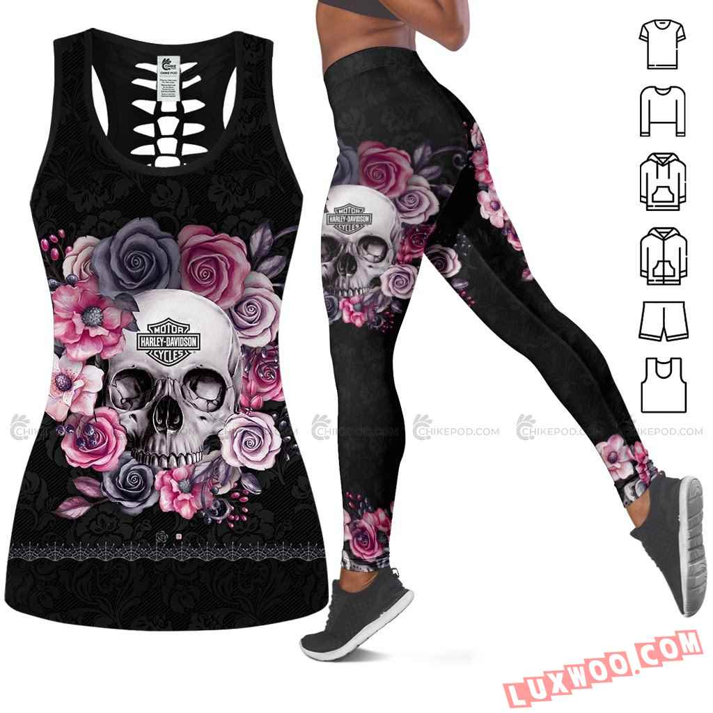 Love Motorbike Tank Top Legging 3d All Over Printed Clothes Bc302