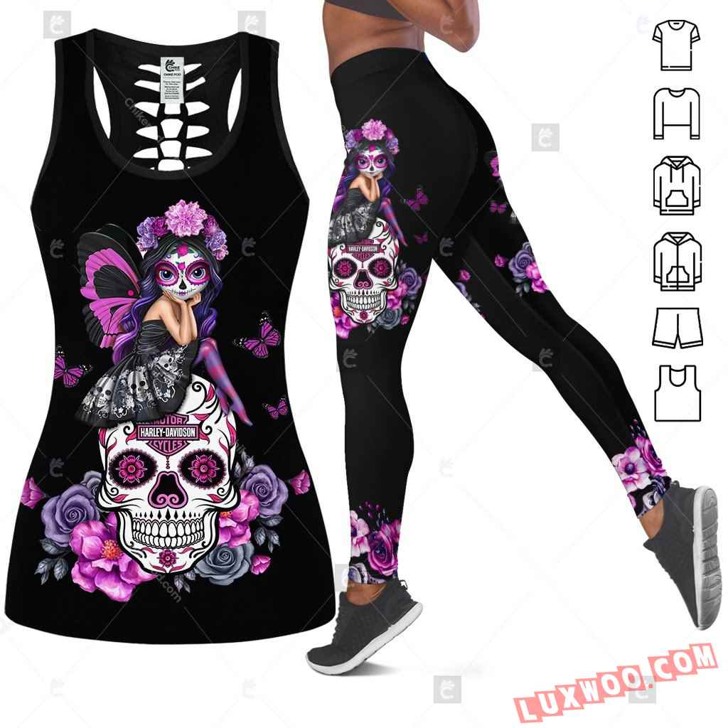 Love Motorbike Tank Top Legging 3d All Over Printed Clothes Bc357