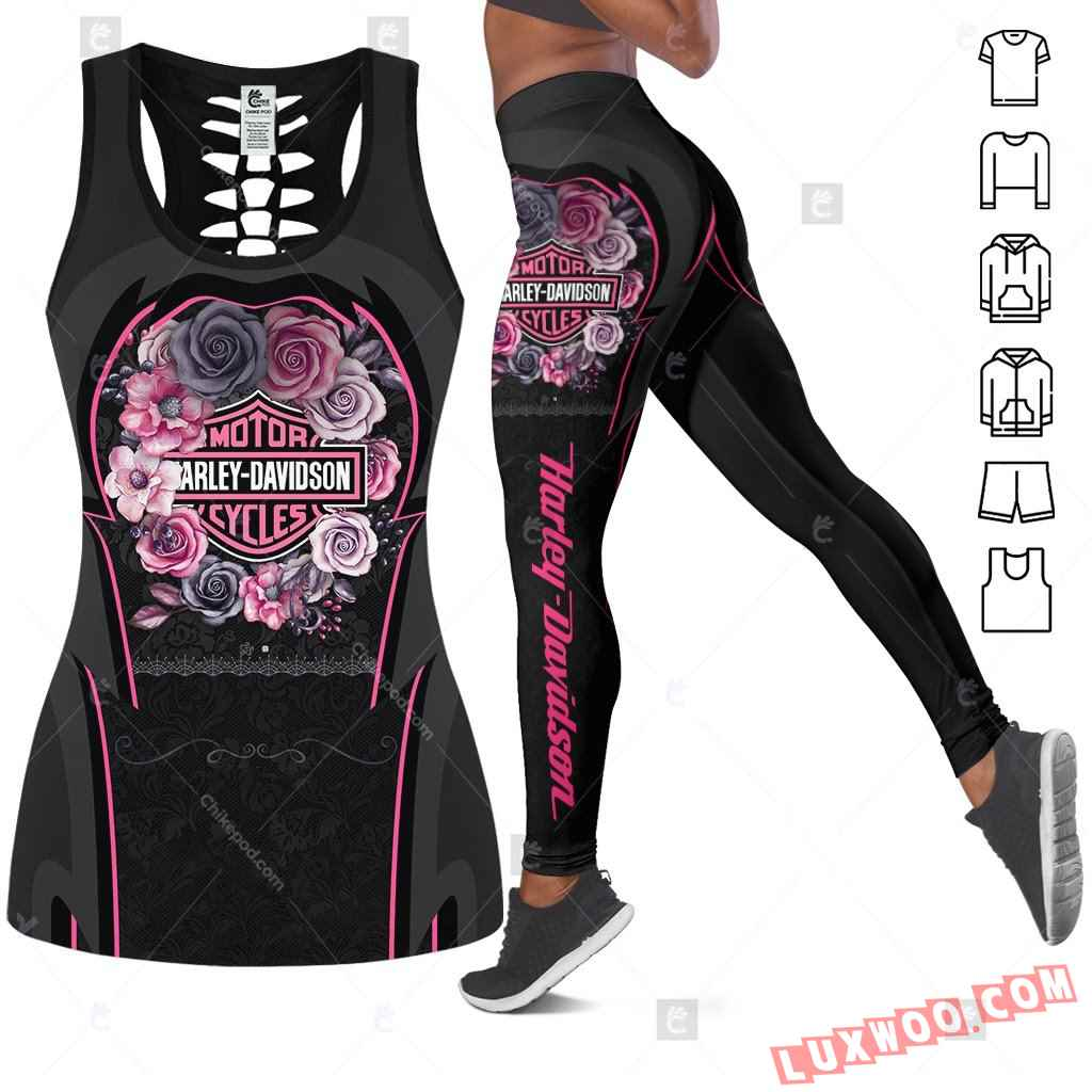 Love Motorbike Tank Top Legging 3d All Over Printed Clothes Cm150