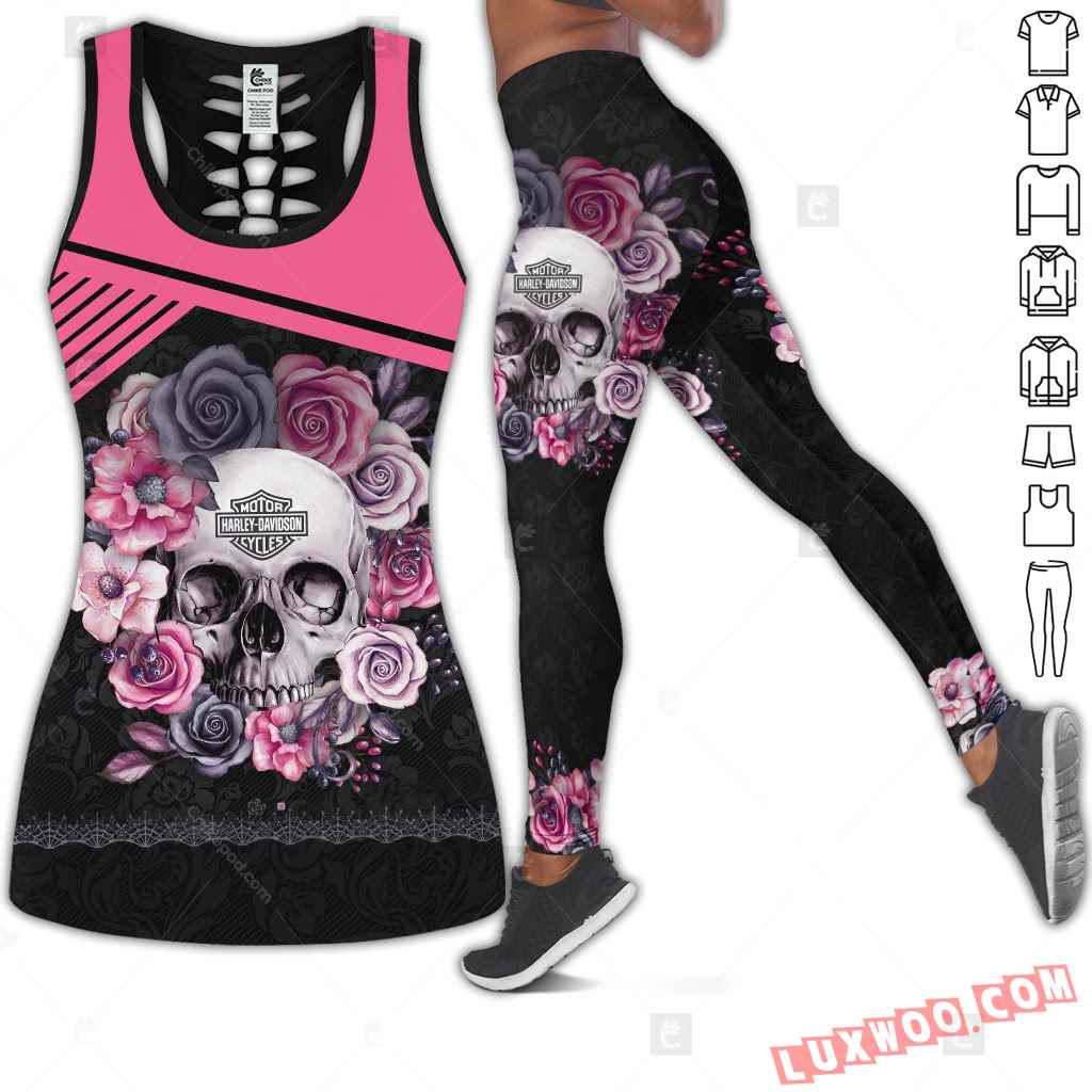 Love Motorbike Tank Top Legging 3d All Over Printed Clothes Cm532