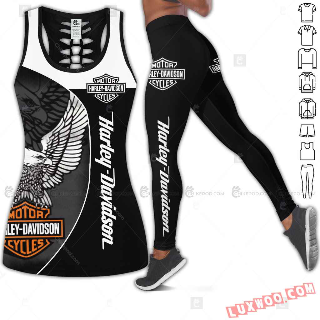 Love Motorbike Tank Top Legging 3d All Over Printed Clothes Cm687