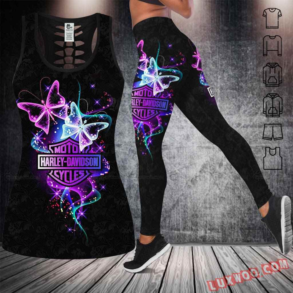 Love Motorbike Tank Top Legging 3d All Over Printed Clothes Nc407