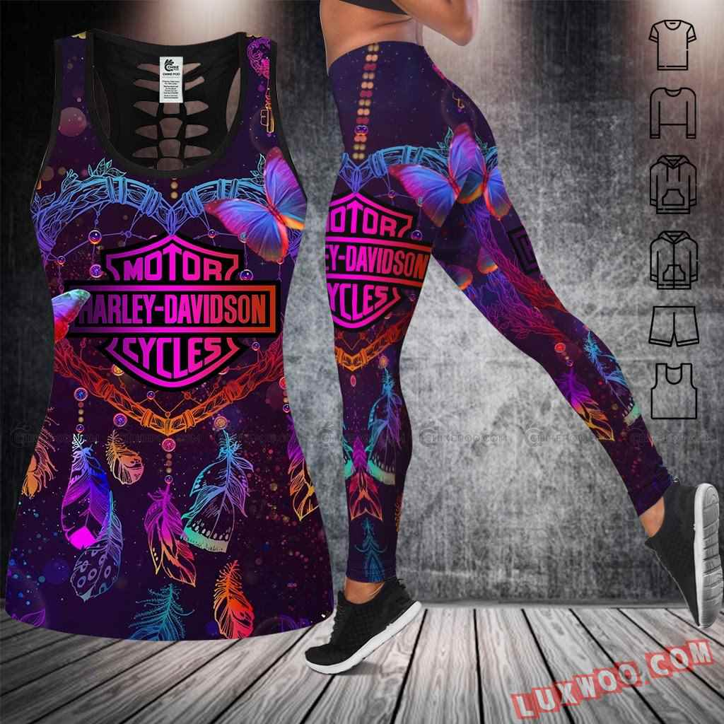 Love Motorbike Tank Top Legging 3d All Over Printed Clothes Nc412