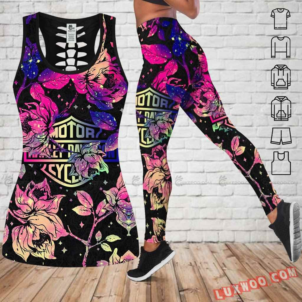 Love Motorbike Tank Top Legging 3d All Over Printed Clothes Nc423