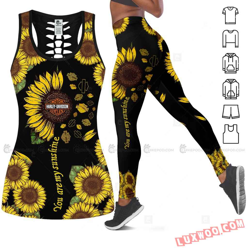 Love Motorbike Tank Top Legging 3d All Over Printed Clothes Nt81