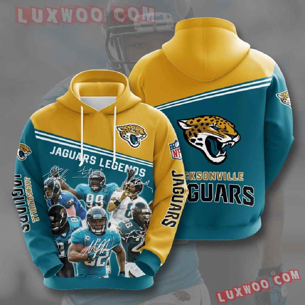 Nfl Jacksonville Jaguars 3d Hoodies Printed Zip Hoodies Sweatshirt Jacket V11