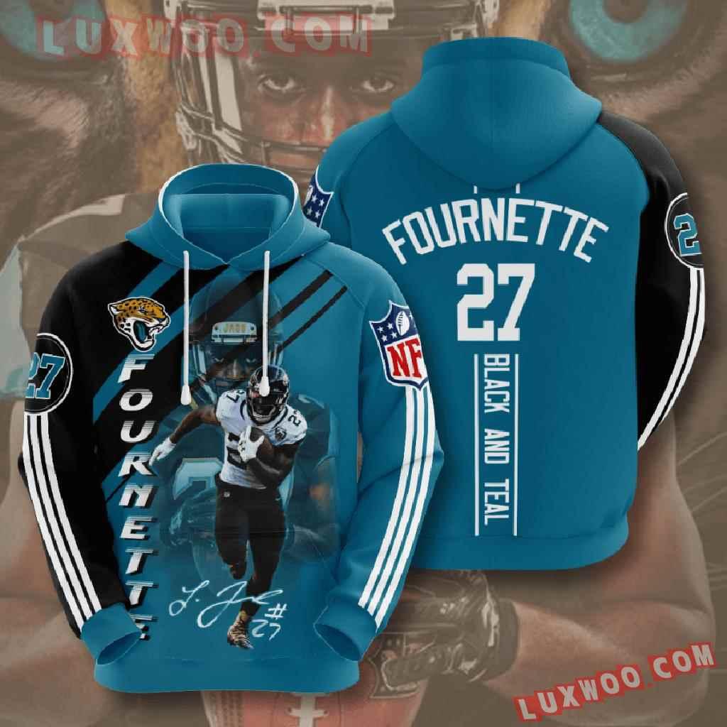 Nfl Jacksonville Jaguars 3d Hoodies Printed Zip Hoodies Sweatshirt Jacket V12