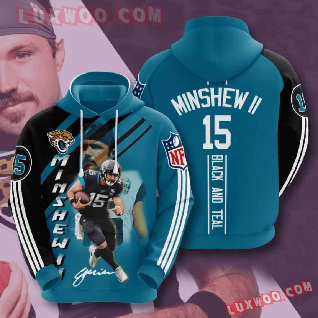 Nfl Jacksonville Jaguars 3d Hoodies Printed Zip Hoodies Sweatshirt Jacket V13
