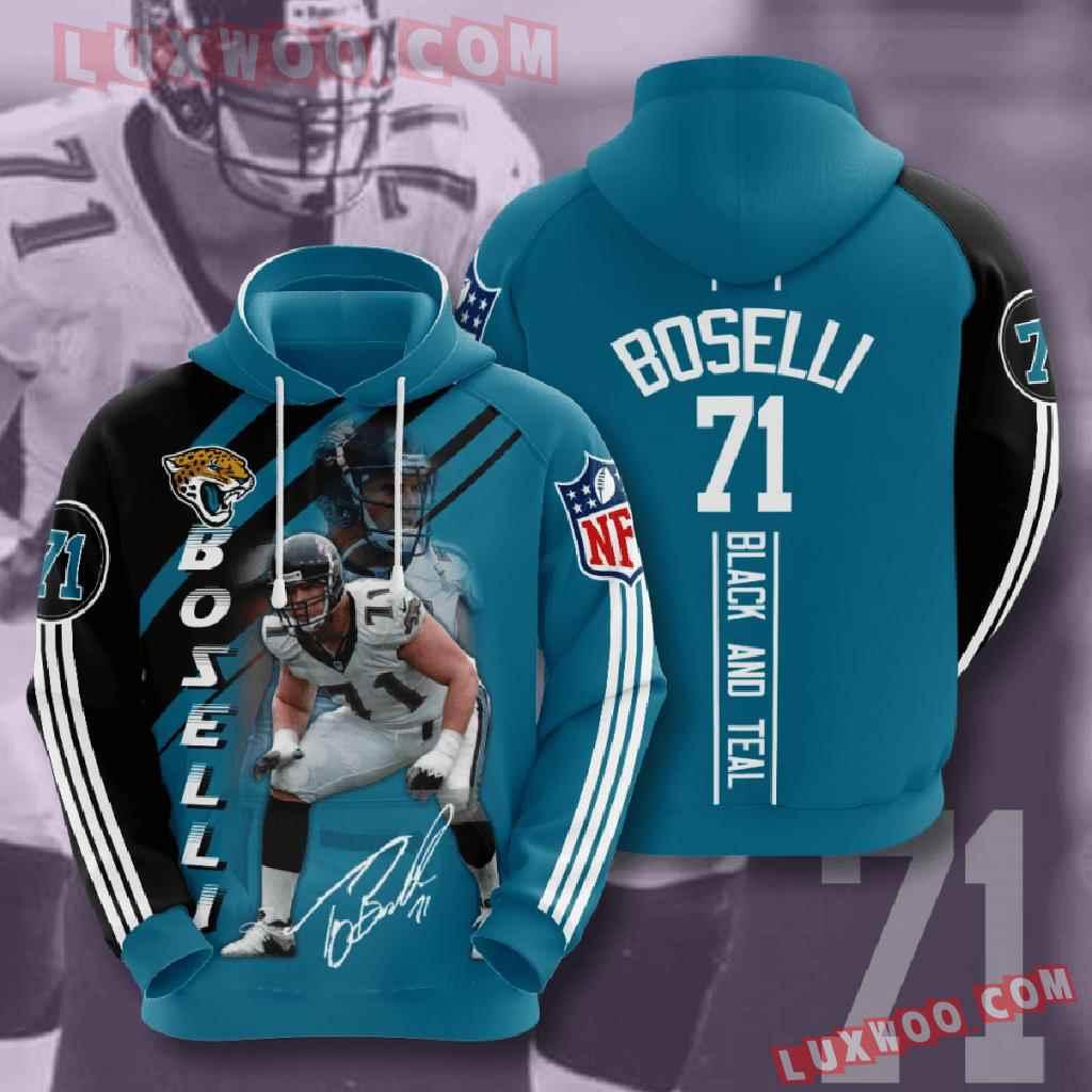 Nfl Jacksonville Jaguars 3d Hoodies Printed Zip Hoodies Sweatshirt Jacket V15