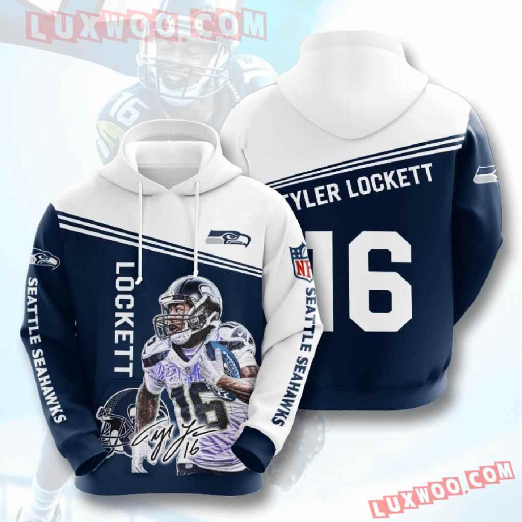 Nfl Seattle Seahawks 3d Hoodies Printed Zip Hoodies Sweatshirt Jacket V15