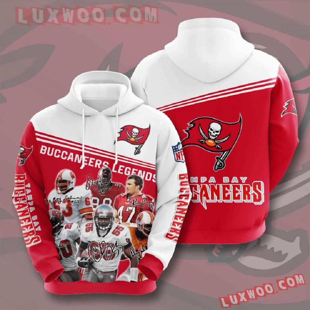 Nfl Tampa Bay Buccaneers 3d Hoodies Printed Zip Hoodies Sweatshirt Jacket V10