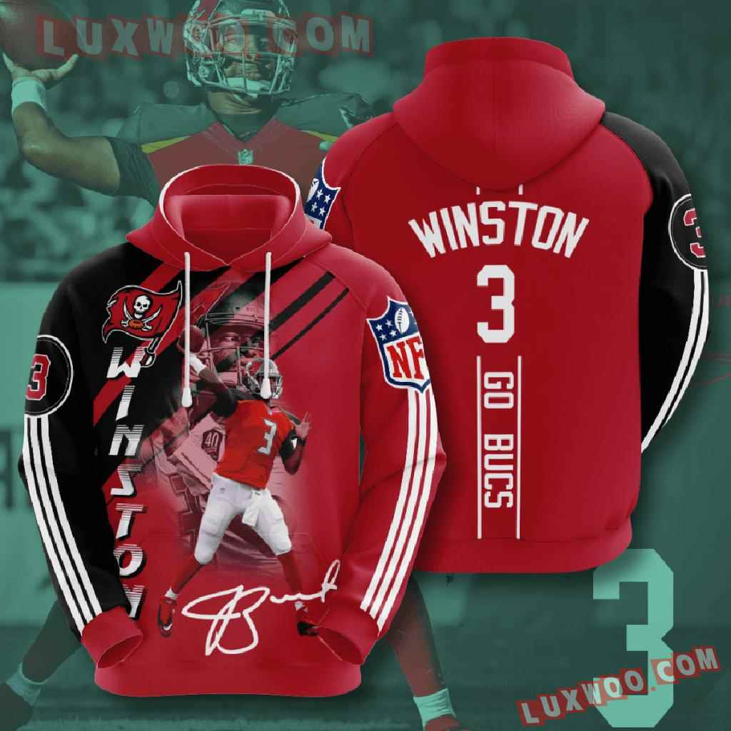Nfl Tampa Bay Buccaneers 3d Hoodies Printed Zip Hoodies Sweatshirt Jacket V12