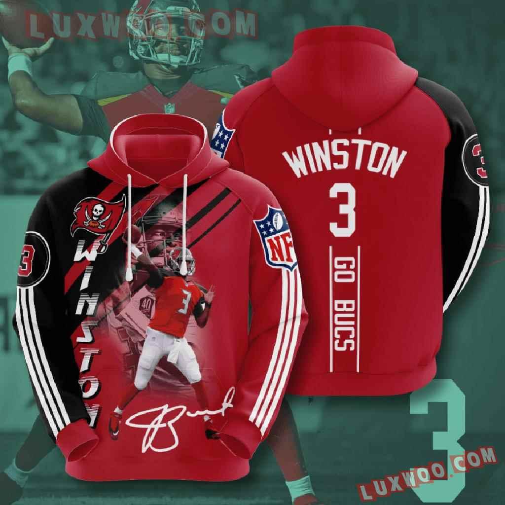 Nfl Tampa Bay Buccaneers 3d Hoodies Printed Zip Hoodies Sweatshirt Jacket V12