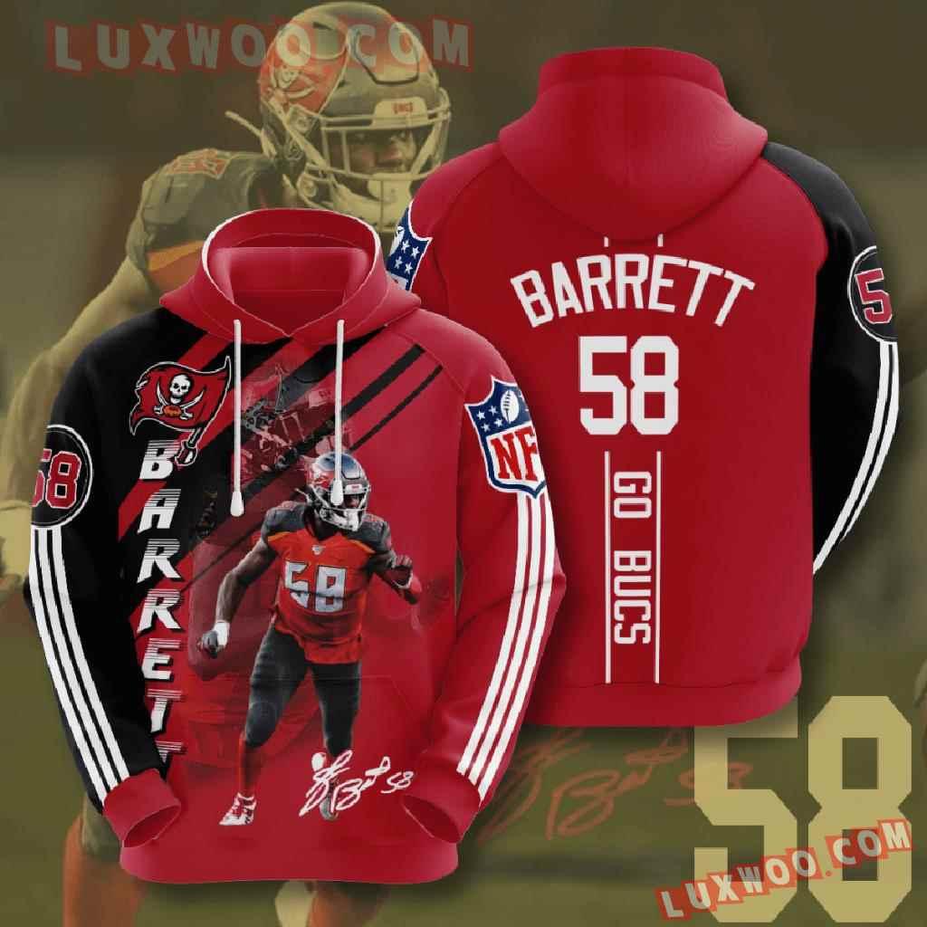 Nfl Tampa Bay Buccaneers 3d Hoodies Printed Zip Hoodies Sweatshirt Jacket V14