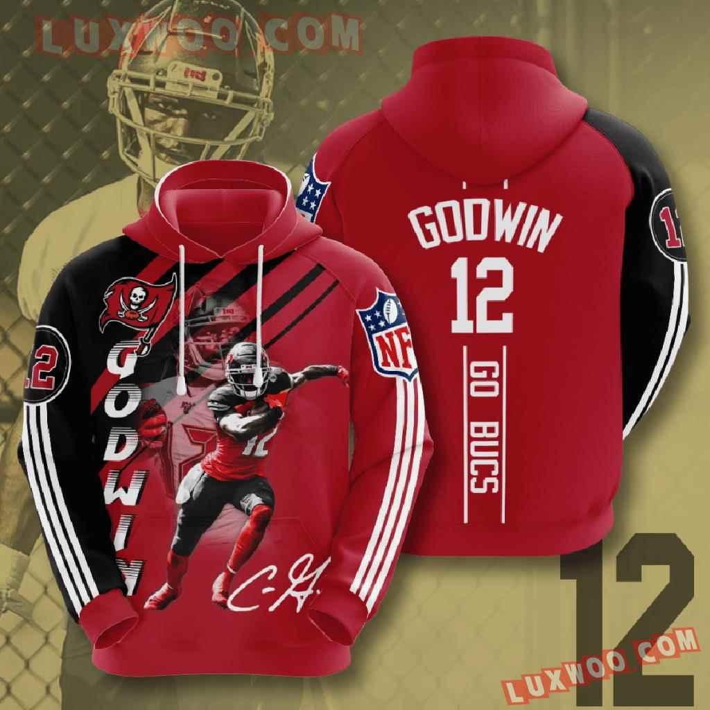 Nfl Tampa Bay Buccaneers 3d Hoodies Printed Zip Hoodies Sweatshirt Jacket V15
