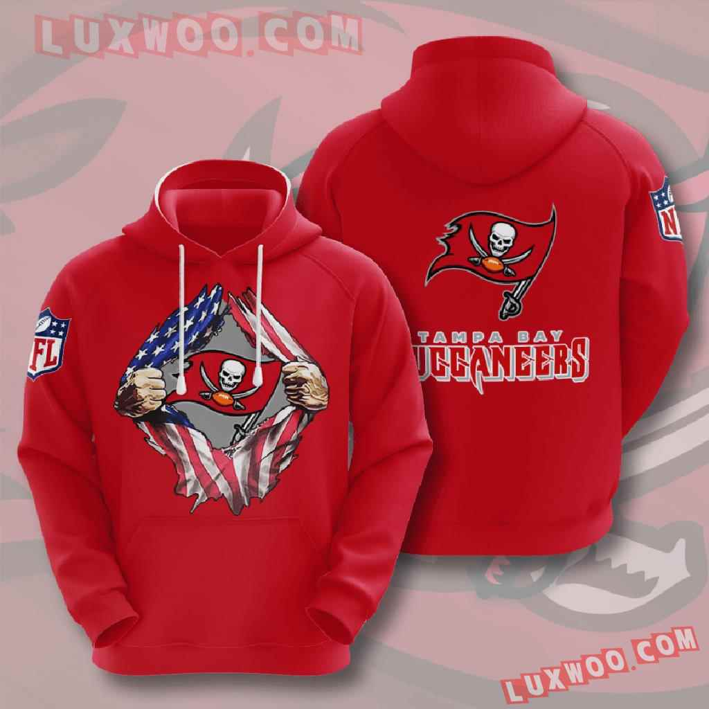 Nfl Tampa Bay Buccaneers 3d Hoodies Printed Zip Hoodies Sweatshirt Jacket V2
