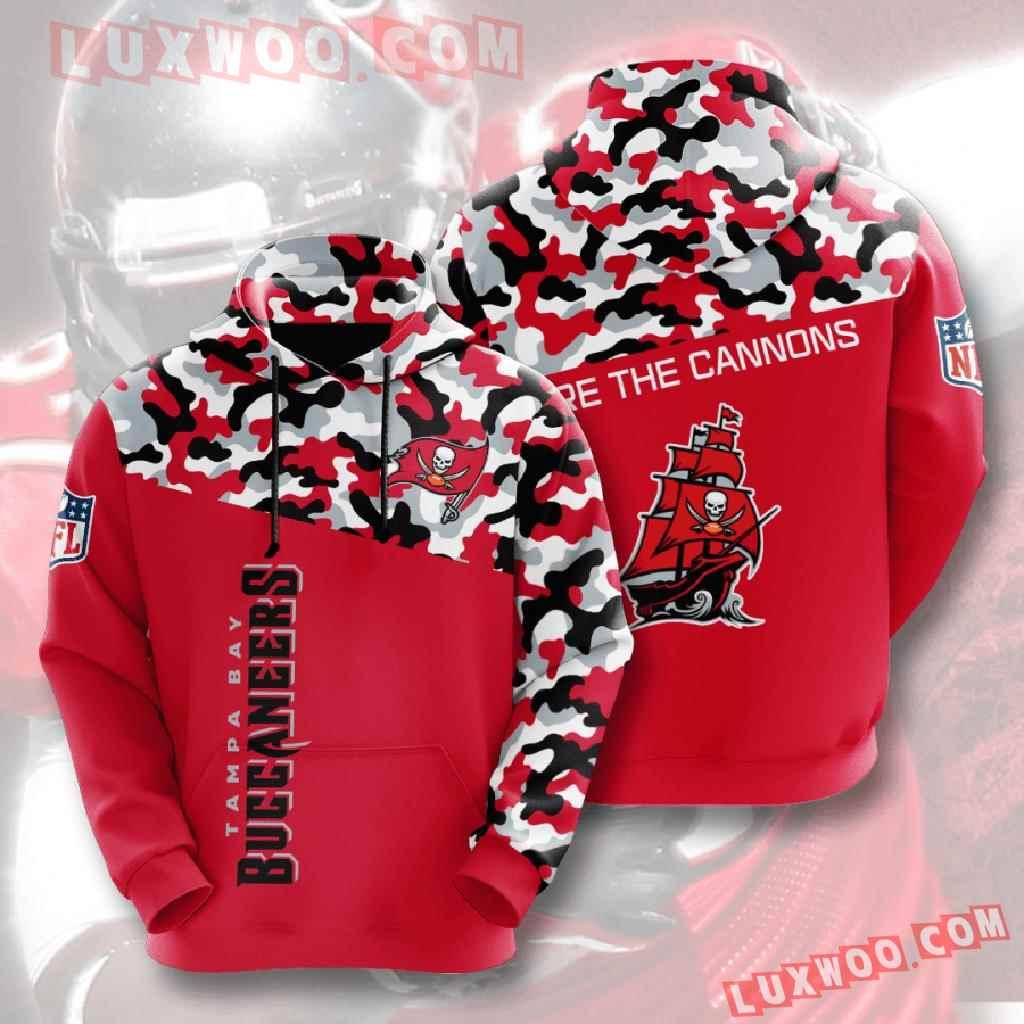 Nfl Tampa Bay Buccaneers 3d Hoodies Printed Zip Hoodies Sweatshirt Jacket V3
