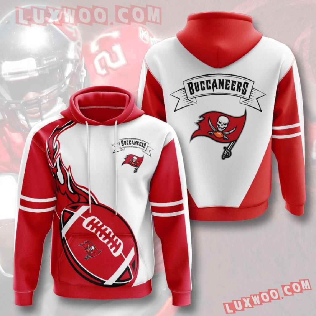 Nfl Tampa Bay Buccaneers 3d Hoodies Printed Zip Hoodies Sweatshirt Jacket V4