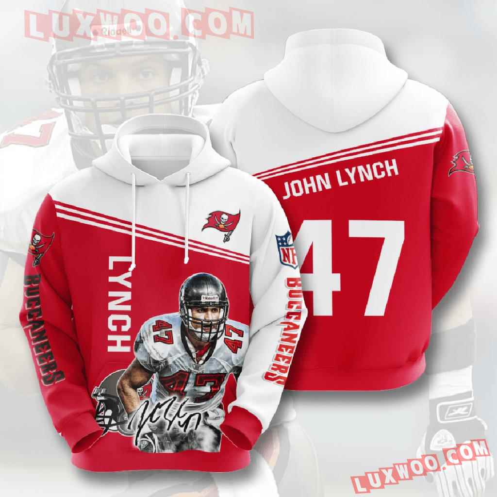 Nfl Tampa Bay Buccaneers 3d Hoodies Printed Zip Hoodies Sweatshirt Jacket V5