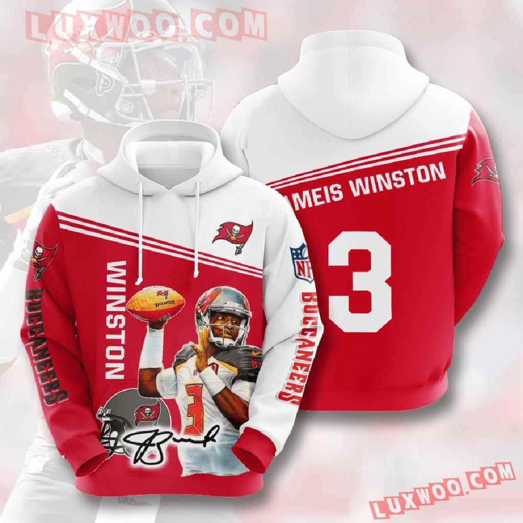 Nfl Tampa Bay Buccaneers 3d Hoodies Printed Zip Hoodies Sweatshirt Jacket V6