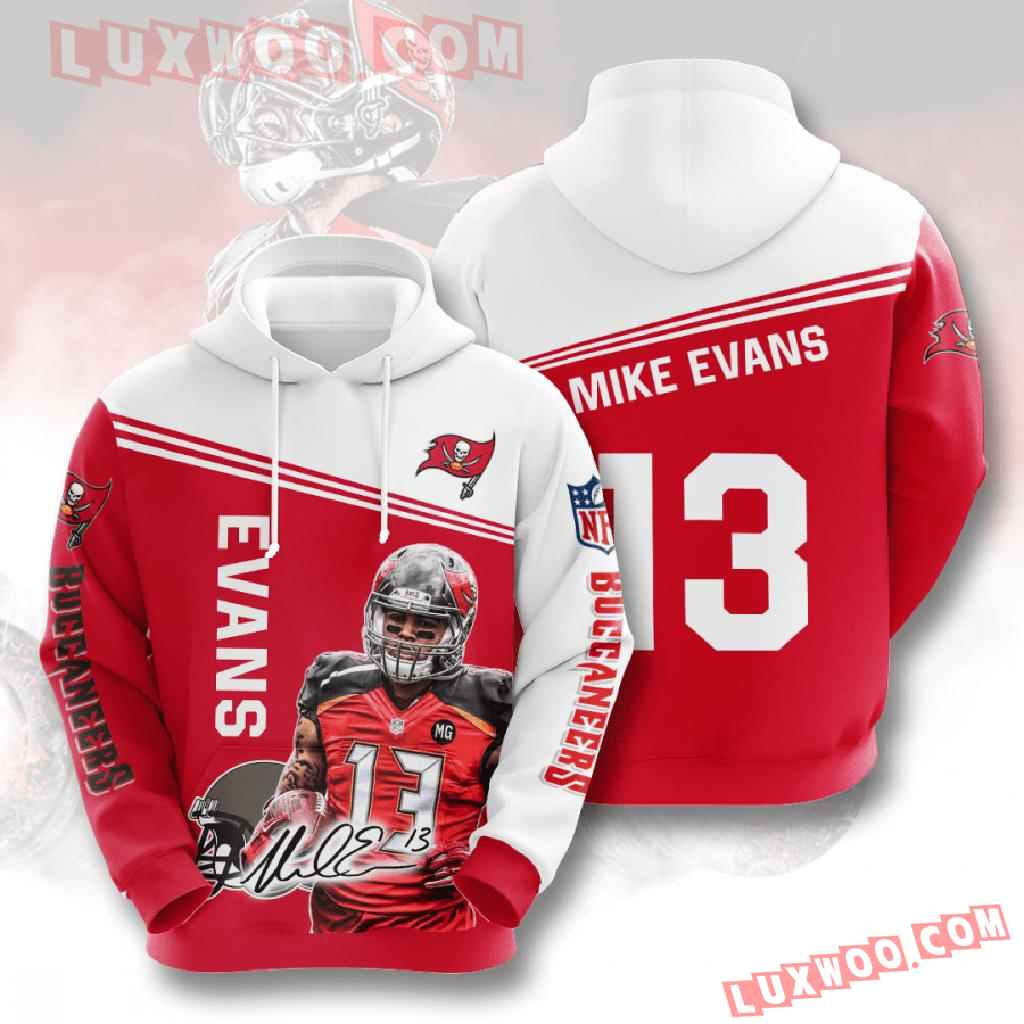 Nfl Tampa Bay Buccaneers 3d Hoodies Printed Zip Hoodies Sweatshirt Jacket V9