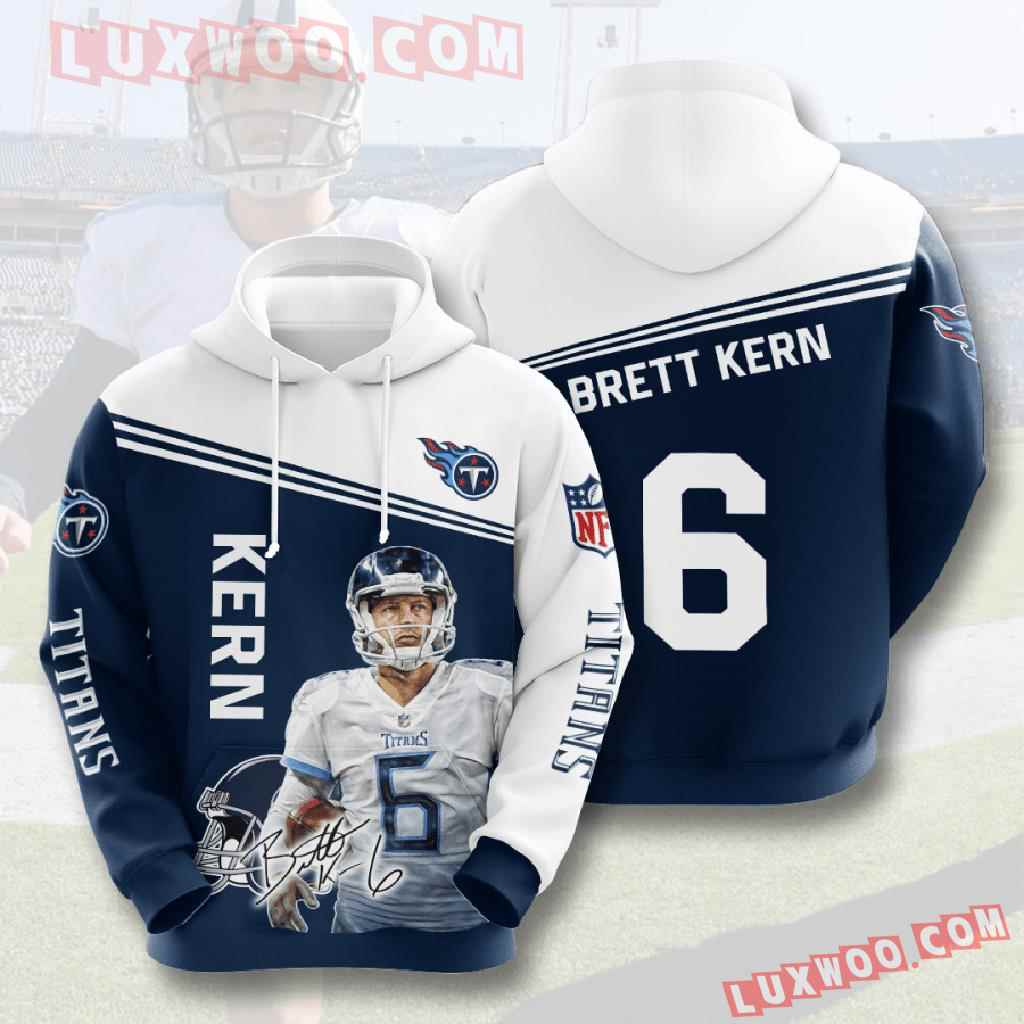 Nfl Tennessee Titans 3d Hoodies Printed Zip Hoodies Sweatshirt Jacket V11