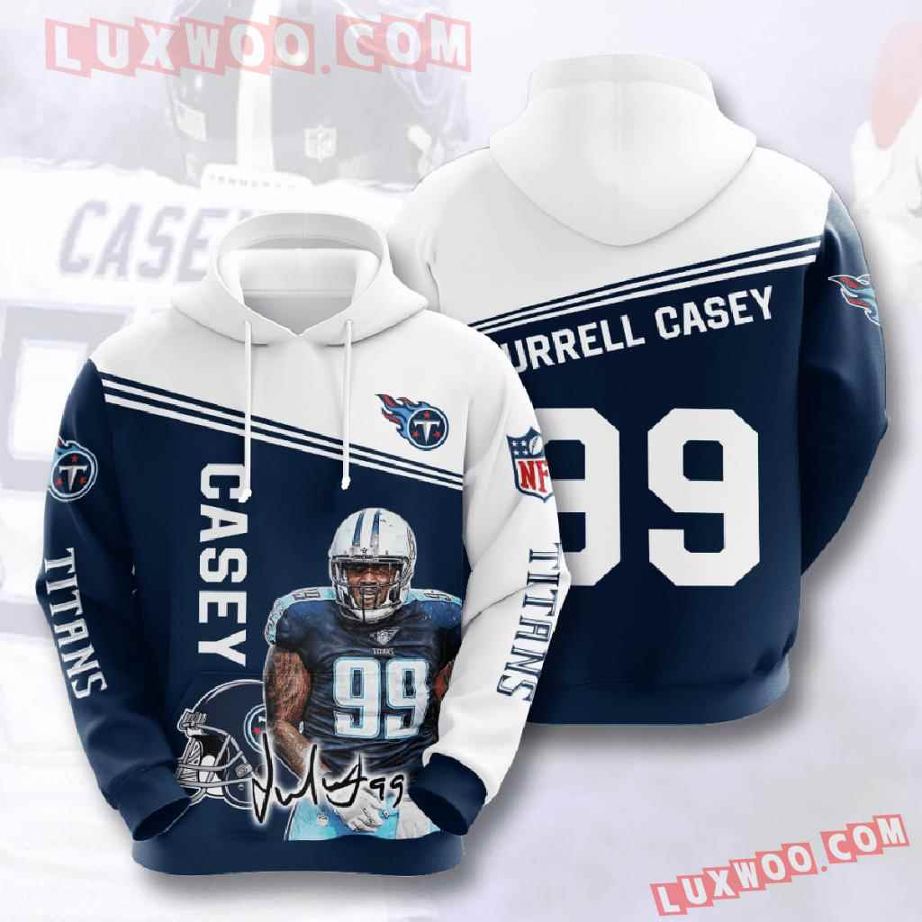 Nfl Tennessee Titans 3d Hoodies Printed Zip Hoodies Sweatshirt Jacket V12