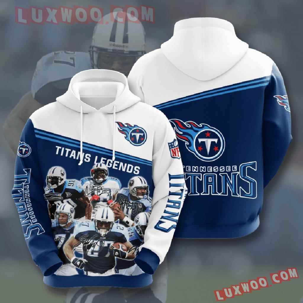 Nfl Tennessee Titans 3d Hoodies Printed Zip Hoodies Sweatshirt Jacket V13