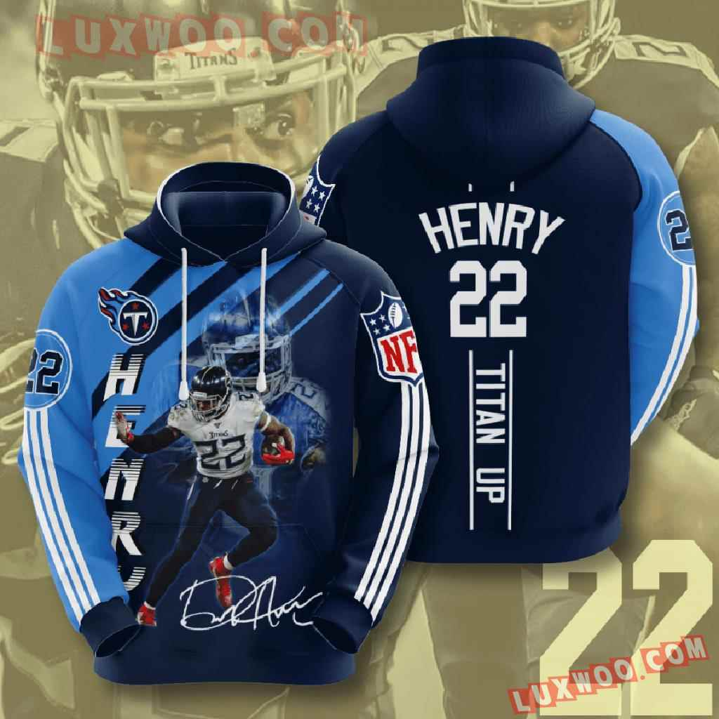Nfl Tennessee Titans 3d Hoodies Printed Zip Hoodies Sweatshirt Jacket V14
