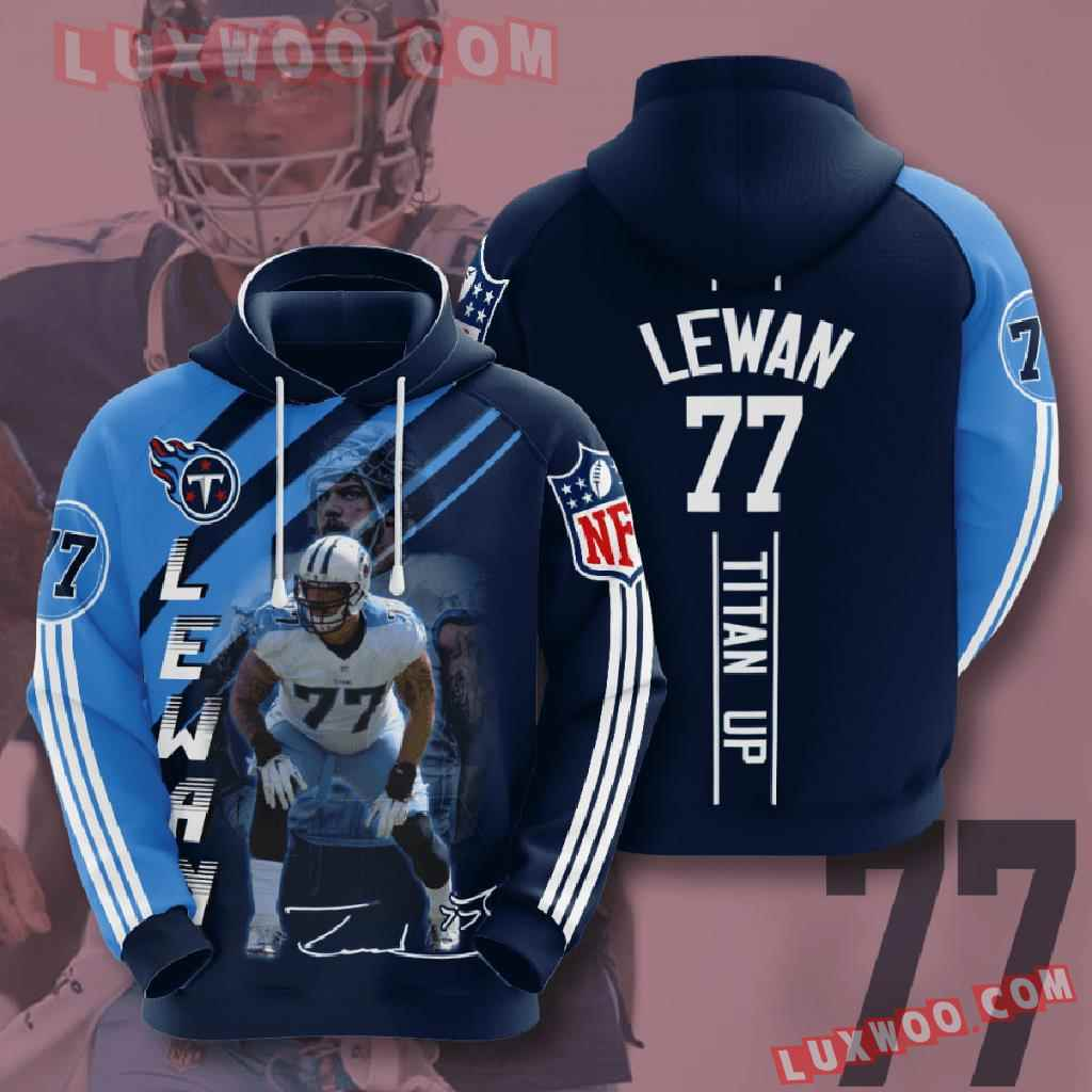Nfl Tennessee Titans 3d Hoodies Printed Zip Hoodies Sweatshirt Jacket V18