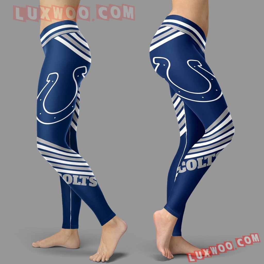 Nfl Indianapolis Colts Leggings 3d Custom Print Leggings Sport V2