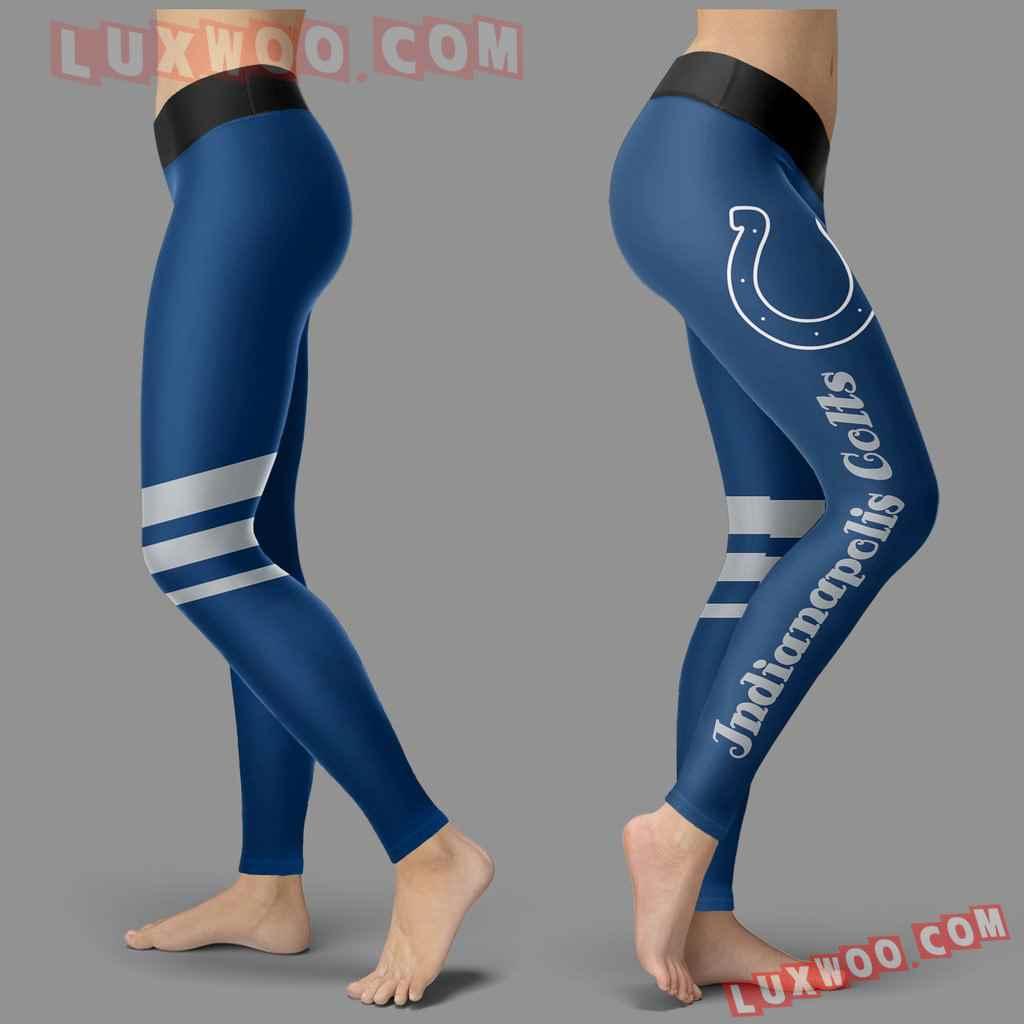 Nfl Indianapolis Colts Leggings 3d Custom Print Leggings Sport V3