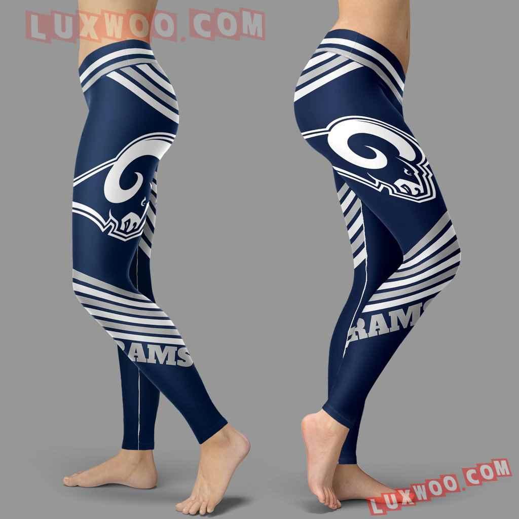 Nfl Los Angeles Rams Leggings 3d Custom Print Leggings Sport V2