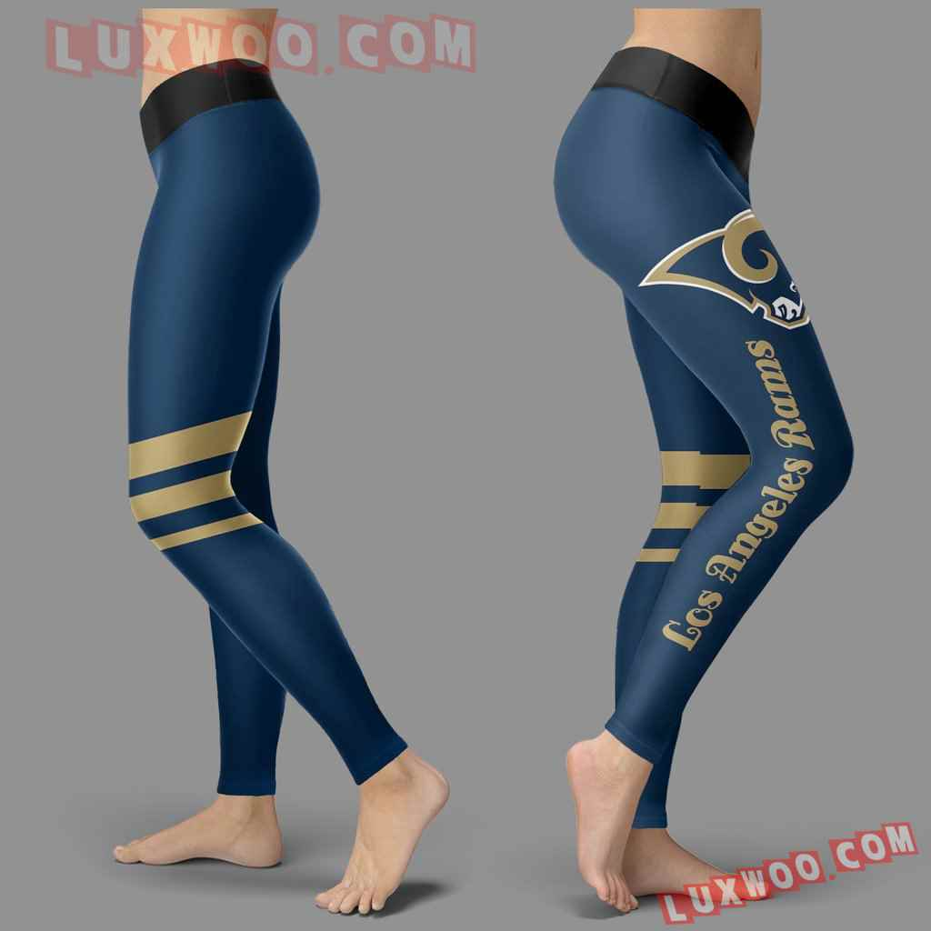 Nfl Los Angeles Rams Leggings 3d Custom Print Leggings Sport V3