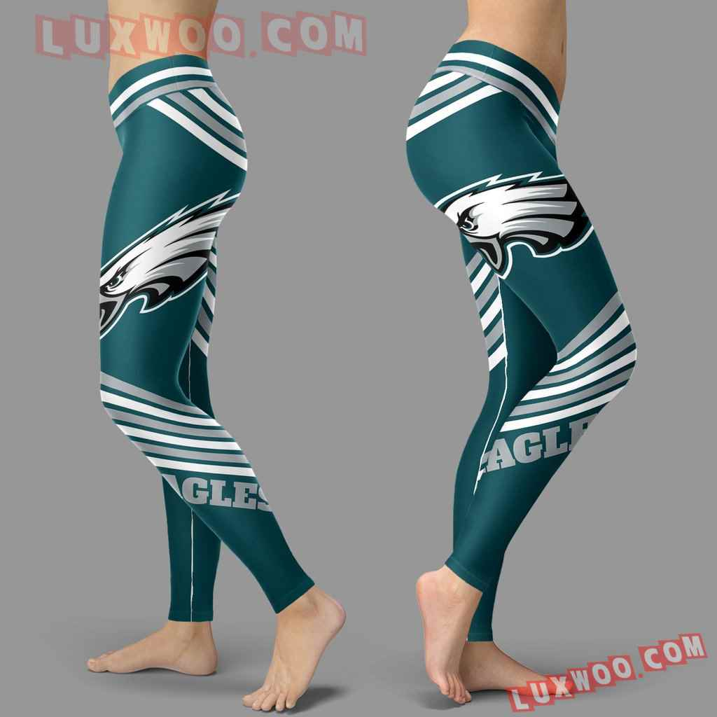 Nfl Philadelphia Eagles Leggings 3d Custom Print Leggings Sport V2