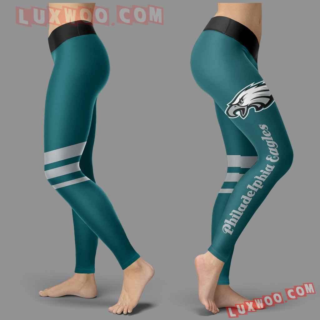 Nfl Philadelphia Eagles Leggings 3d Custom Print Leggings Sport V3