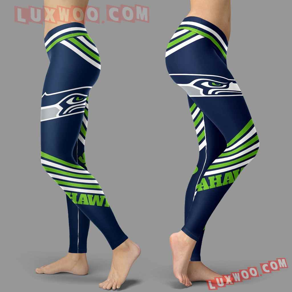 Nfl Seattle Seahawks Leggings 3d Custom Print Leggings Sport V2