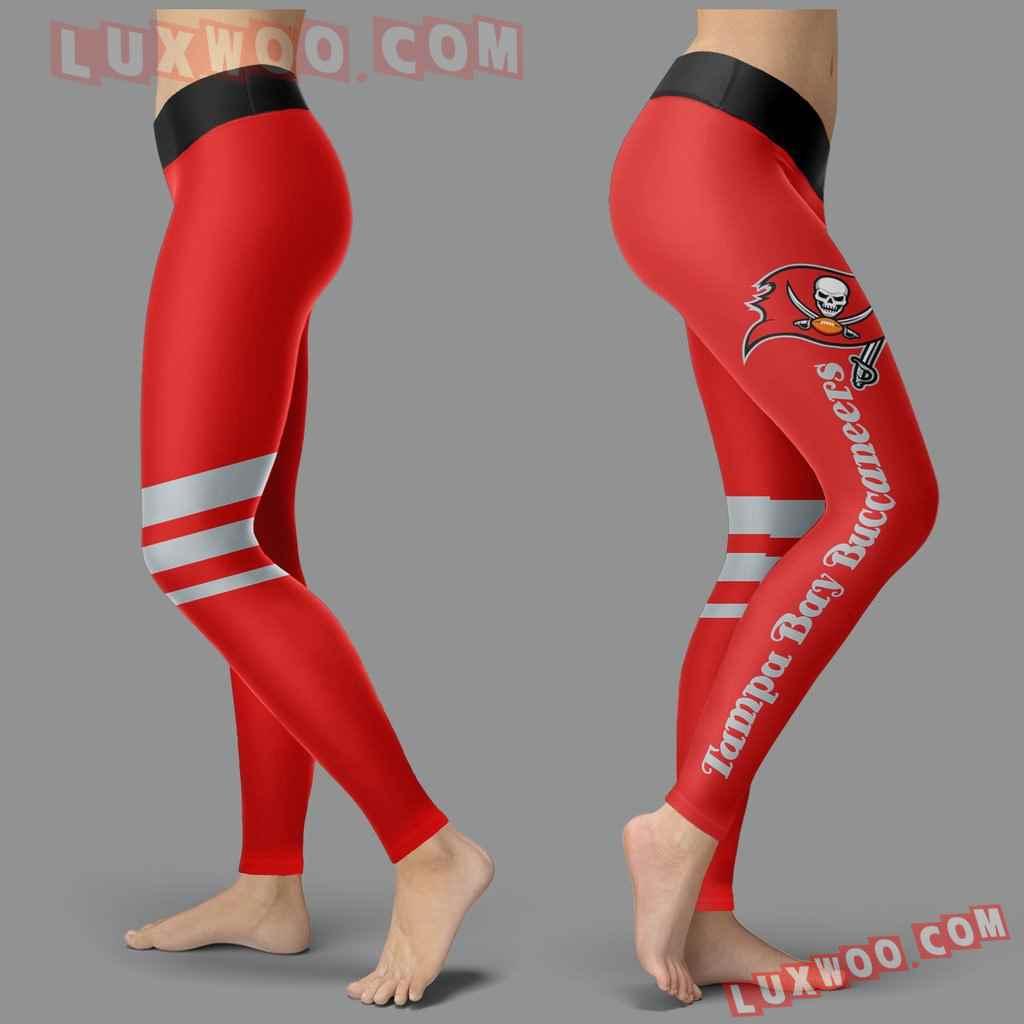 Nfl Tampa Bay Buccaneers Leggings 3d Custom Print Leggings Sport V3